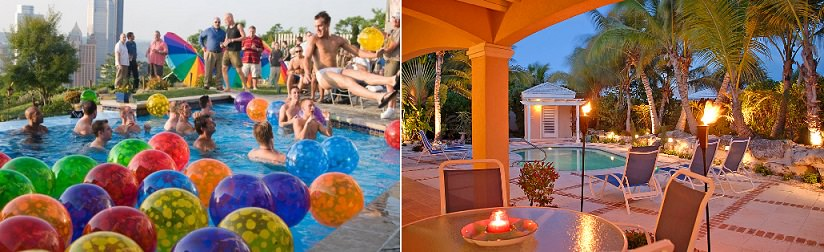 Come organizzare una festa in piscina for Addobbi piscina
