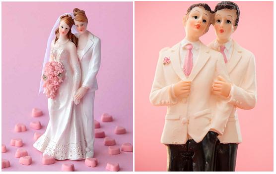 cake topper matrimonio lesbo
