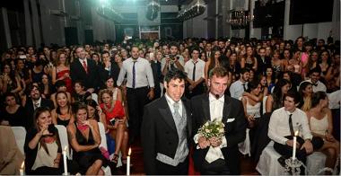 festa matrimonio finto