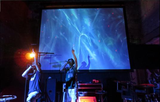 video proiezioni per concerti